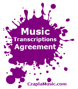 Music Transcriptions Agreement